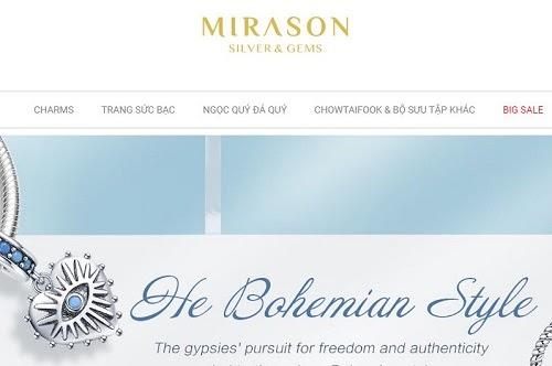 Công ty vàng bạc đá quý Mirason Silver